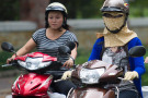 Das Moped ist in Vietnam Transportmittel Nummer eins