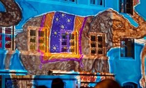 #Wasserburg leuchtet – Licht- und Ton-Show