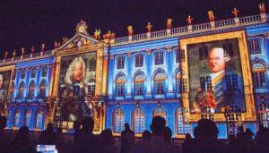 #Frankreich: Spektakuläre Licht- und Sound-Show in #Nancy